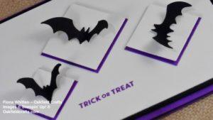 Spooky Bats for CAS Colours & Sketches Challenge #291